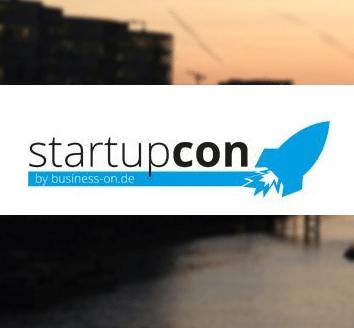 startupcon - Gründerkonferenz im Forum Leverkusen.
