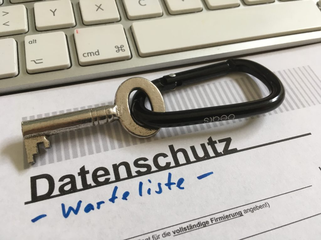 DSGVO Warteliste gestartet - noch 8 Mandate als externer Datenschutzbeauftragter möglich!