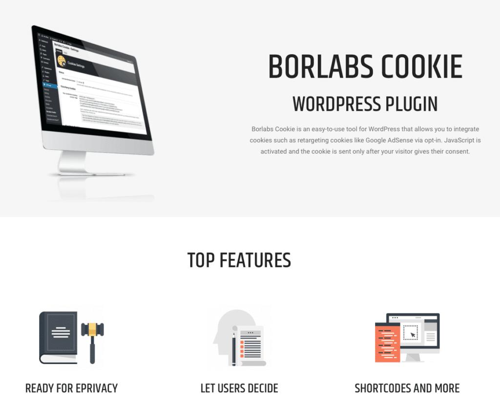 Borlabs Cookie hat einige Vorteile bei der DSGVO Überarbeitung.